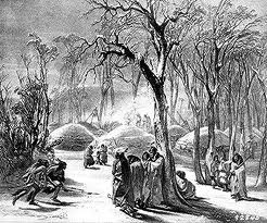 Winter_Native_American_Indian_Camp