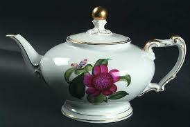 Camelia Teapot