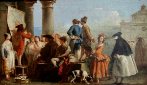 Tiepolo,_Giovanni_Domenico_-_The_Storyteller_-_mid_1770s