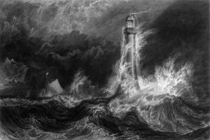 Bell_Rock_Lighthouse_during_a_storm_cph.3b18344