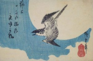 800px-Hiroshige_lesser_cockoo