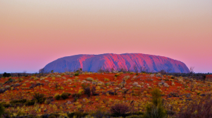Uluru Sunset By Rumpleteaser