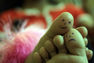 Toe Art…Love & Care by Vinoth Chandar