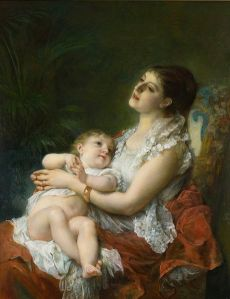 460px-Adolphe_Jourdan_A_Mother's_Embrace